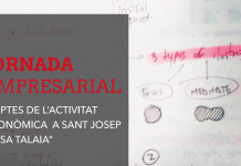 Jornada empresarial dedicada a reflexionar i debatir sobre els reptes de l'activitat econòmica a Sant Josep de sa Talaia